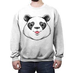 Panda Love - Crew Neck Sweatshirt - Crew Neck Sweatshirt - RIPT Apparel