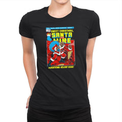 Santa For Hire Exclusive - Womens Premium - T-Shirts - RIPT Apparel