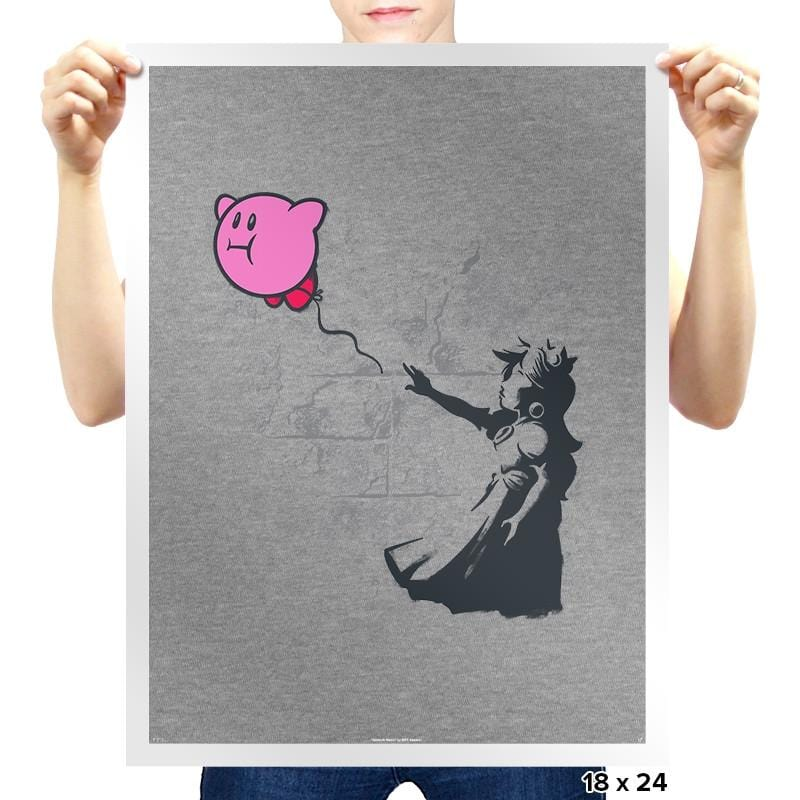 Kirbanksy Exclusive - Prints - Posters - RIPT Apparel