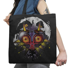 Power Behind the Mask - Graffitees - Tote Bag - Tote Bag - RIPT Apparel