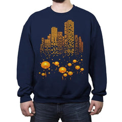 Lantern City - Crew Neck Sweatshirt - Crew Neck Sweatshirt - RIPT Apparel