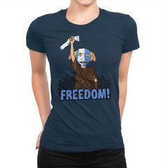 Freedobby - Raffitees - Womens Premium - T-Shirts - RIPT Apparel