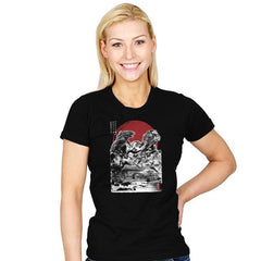 Attack on Japanese Temple - Womens - T-Shirts - RIPT Apparel