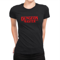 Dungeon Master - Womens Premium - T-Shirts - RIPT Apparel