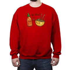 Hi Pho - Crew Neck Sweatshirt - Crew Neck Sweatshirt - RIPT Apparel
