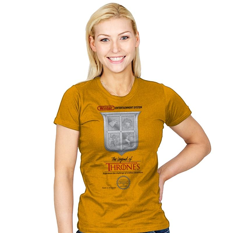 Legend of Thrones - Womens - T-Shirts - RIPT Apparel