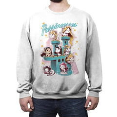 Purrrincess - Crew Neck Sweatshirt - Crew Neck Sweatshirt - RIPT Apparel