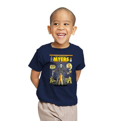 THE SHAPELESS MYERS - Youth - T-Shirts - RIPT Apparel