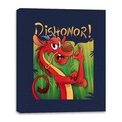Dishonor! - Canvas Wraps - Canvas Wraps - RIPT Apparel