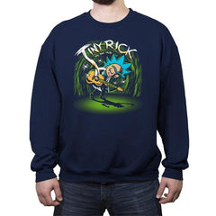 Tiny VS The Old - Crew Neck Sweatshirt - Crew Neck Sweatshirt - RIPT Apparel