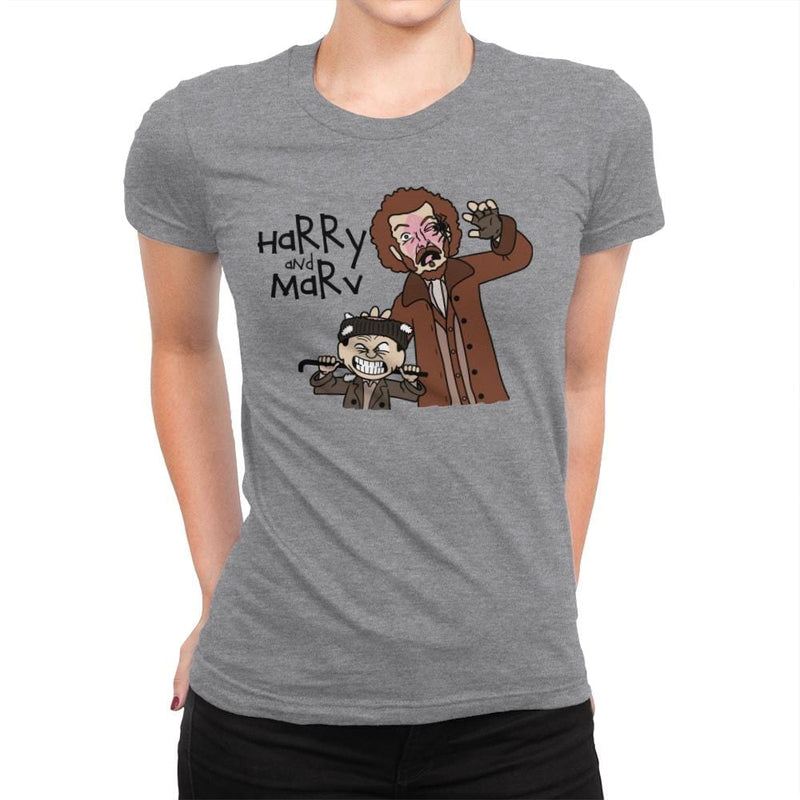 Harry and Marv! - Womens Premium - T-Shirts - RIPT Apparel