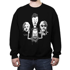 Butthemian Crapsody - Crew Neck Sweatshirt - Crew Neck Sweatshirt - RIPT Apparel