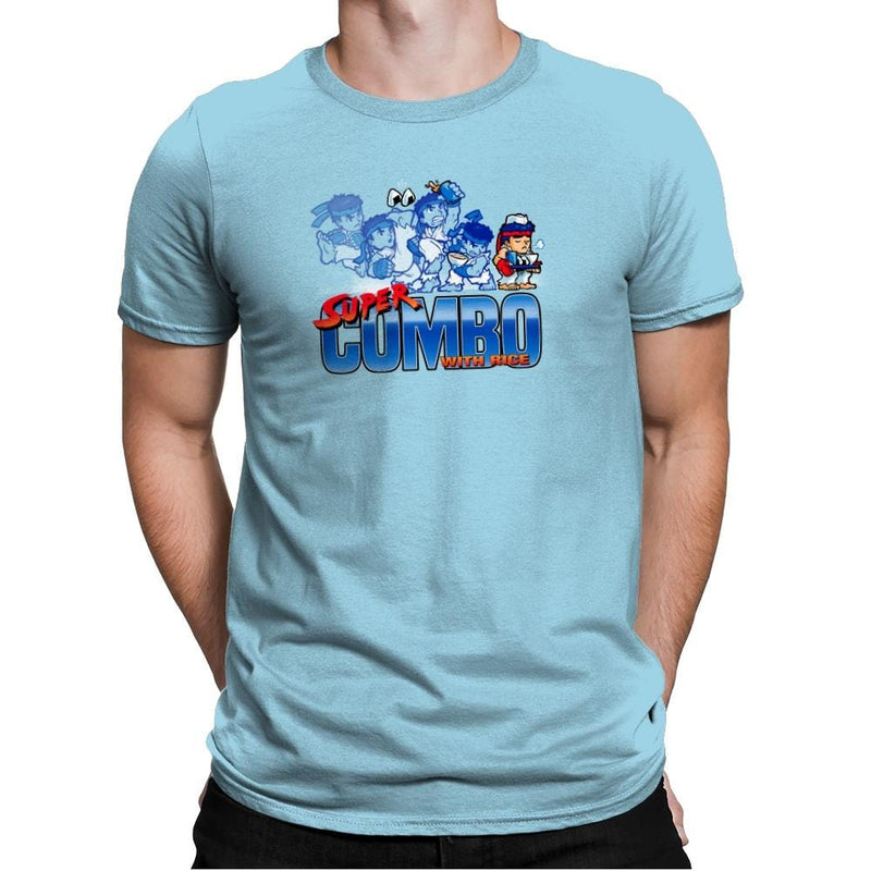 Super Combo with Rice Exclusive - Mens Premium - T-Shirts - RIPT Apparel