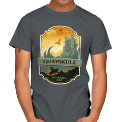 Grayskull Strong Ale - Mens - T-Shirts - RIPT Apparel