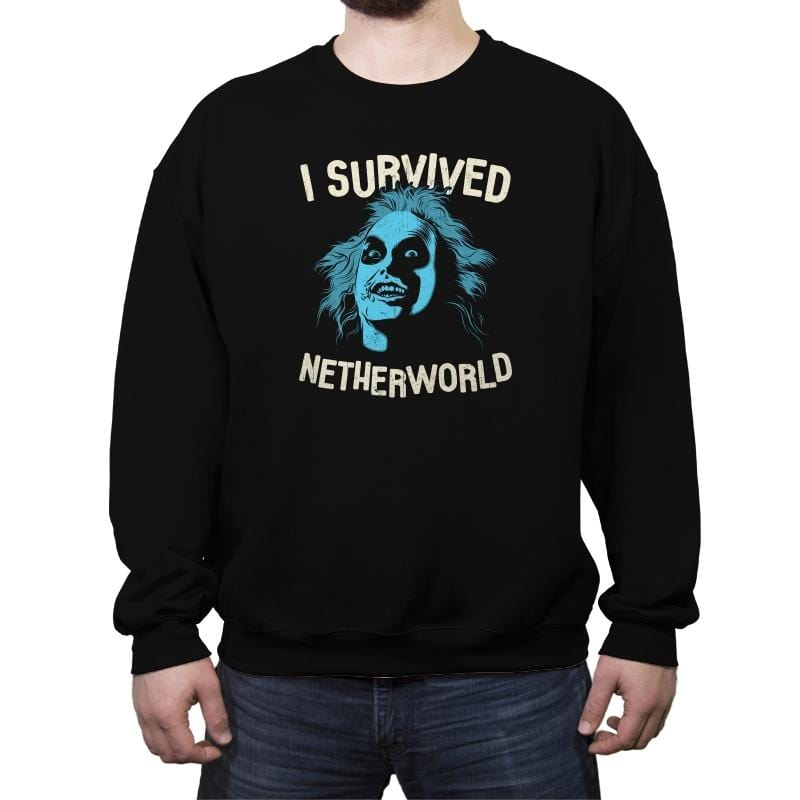 Netherworld Survivor - Crew Neck Sweatshirt - Crew Neck Sweatshirt - RIPT Apparel