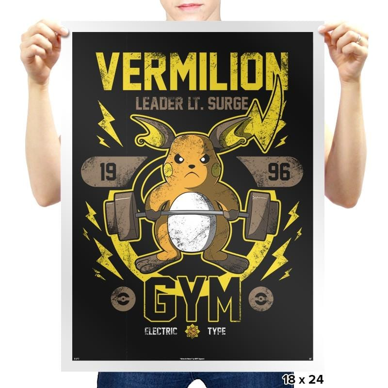 Vermilion Gym - New Year's Evolutions - Prints - Posters - RIPT Apparel