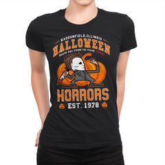 Halloween Horrors - Womens Premium - T-Shirts - RIPT Apparel