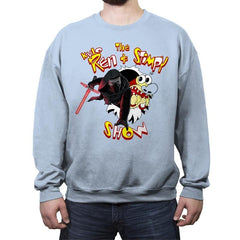 K. Ren and Stimpy Reprint - Crew Neck Sweatshirt - Crew Neck Sweatshirt - RIPT Apparel