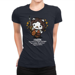Hello Inigo B - Womens Premium - T-Shirts - RIPT Apparel