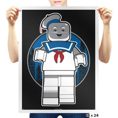 Mini Marshmallow Man Exclusive - Brick Tees - Prints - Posters - RIPT Apparel