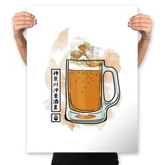 The great beer off Kanagawa - Prints - Posters - RIPT Apparel