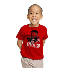 Save The Rebellion - Youth - T-Shirts - RIPT Apparel
