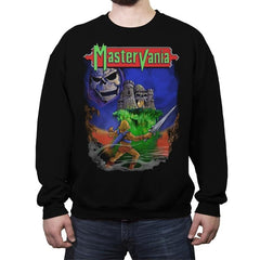 Mastervania - Anytime - Crew Neck Sweatshirt - Crew Neck Sweatshirt - RIPT Apparel