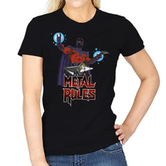 Metal Rules - Womens - T-Shirts - RIPT Apparel