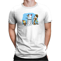 The Snow Dalek Exclusive - Mens Premium - T-Shirts - RIPT Apparel