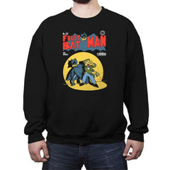 Fruitbat Man - Crew Neck Sweatshirt - Crew Neck Sweatshirt - RIPT Apparel