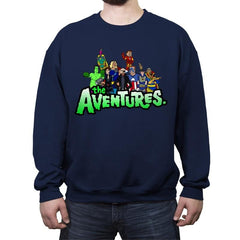 The Aventure Bros - Crew Neck Sweatshirt - Crew Neck Sweatshirt - RIPT Apparel