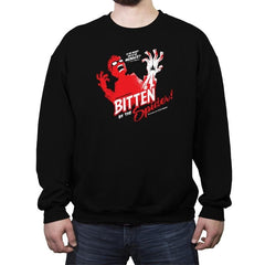 Bitten by the Spider - Crew Neck Sweatshirt - Crew Neck Sweatshirt - RIPT Apparel