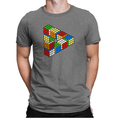 Magic Puzzle Cube Exclusive - Mens Premium - T-Shirts - RIPT Apparel