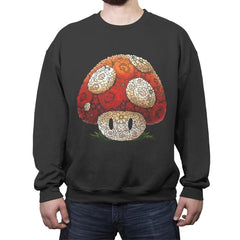 Super Arcimboldo - Crew Neck Sweatshirt - Crew Neck Sweatshirt - RIPT Apparel