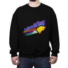 You Know Nothing - Crew Neck Sweatshirt - Crew Neck Sweatshirt - RIPT Apparel