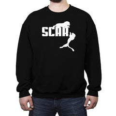 SCAR - Crew Neck Sweatshirt - Crew Neck Sweatshirt - RIPT Apparel