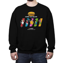 Choose Your Belcher - Crew Neck Sweatshirt - Crew Neck Sweatshirt - RIPT Apparel