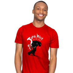 Mr. Wick vs the World - Mens - T-Shirts - RIPT Apparel