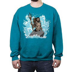 The Little Merman - Crew Neck Sweatshirt - Crew Neck Sweatshirt - RIPT Apparel
