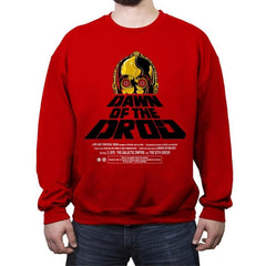 Dawn Of The Droid - Anytime - Crew Neck Sweatshirt - Crew Neck Sweatshirt - RIPT Apparel