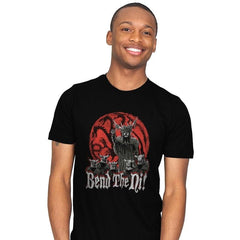 Bend the Ni - Mens - T-Shirts - RIPT Apparel