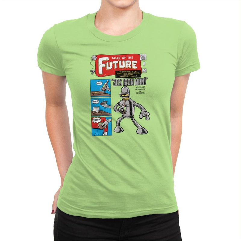 Tales of the Future Exclusive - Womens Premium - T-Shirts - RIPT Apparel