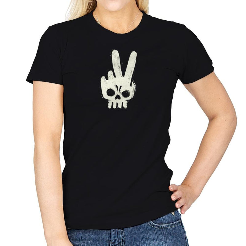 Skull Hand - Womens - T-Shirts - RIPT Apparel