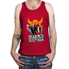 Dead Red Deception - Tanktop - Tanktop - RIPT Apparel