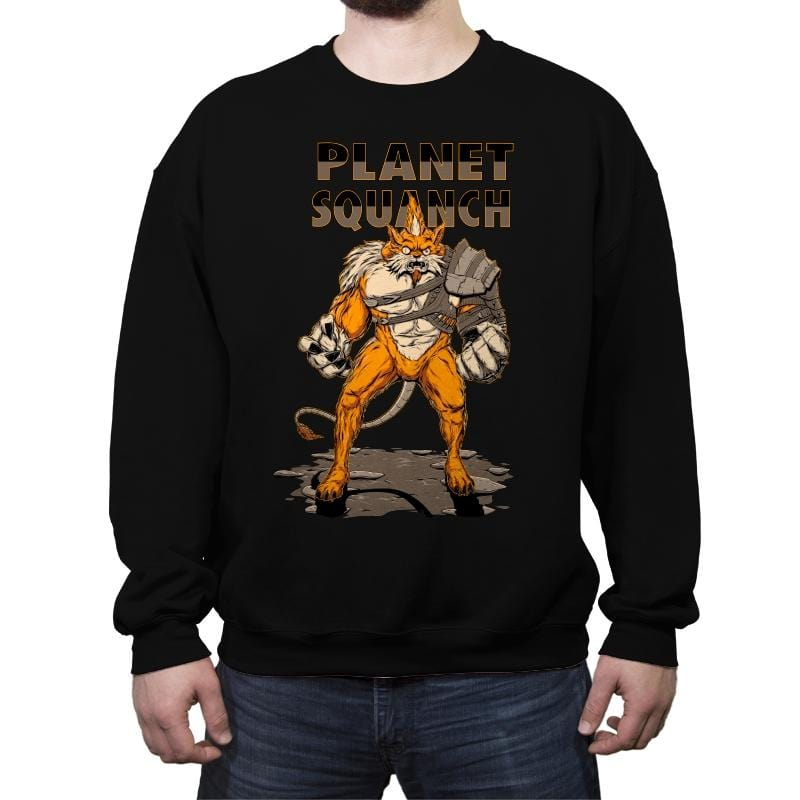 Planet Squanch - Crew Neck Sweatshirt - Crew Neck Sweatshirt - RIPT Apparel