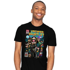 The Power Gauntlet Reprint - Mens - T-Shirts - RIPT Apparel