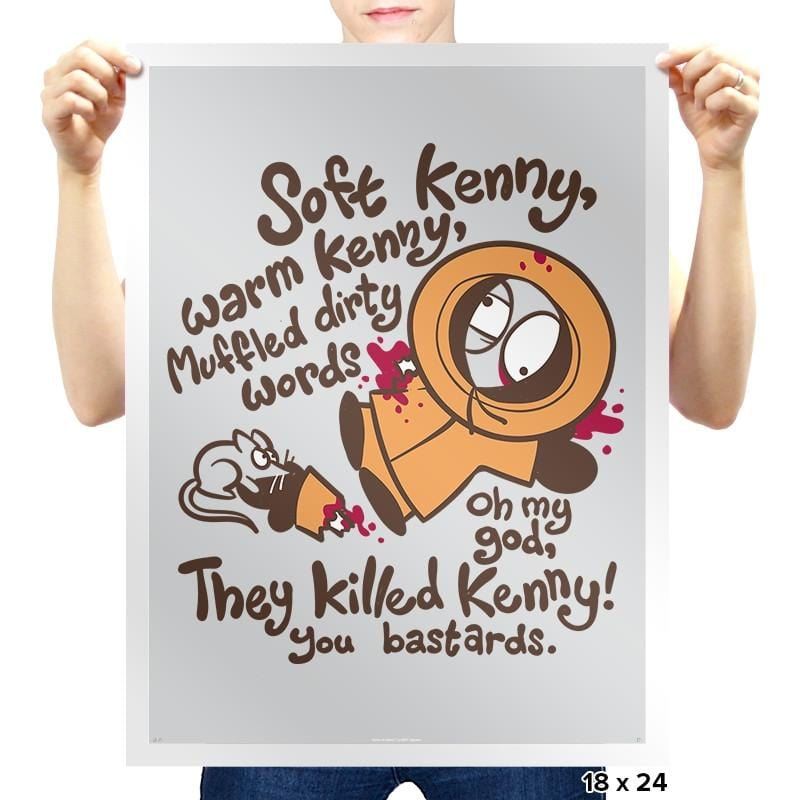 Soft Kenny Exclusive - Prints - Posters - RIPT Apparel