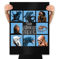 The Aliens Bunch - Prints - Posters - RIPT Apparel