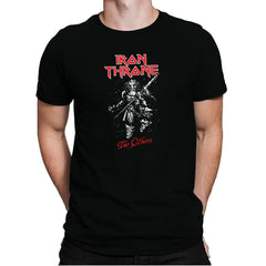 Iron Throne - Heavy Metal Machine - Mens Premium - T-Shirts - RIPT Apparel
