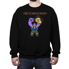 Snap-It Titan - Crew Neck Sweatshirt - Crew Neck Sweatshirt - RIPT Apparel